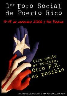Puerto Rico World Social Forum