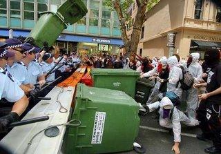 Police Vs Protestors