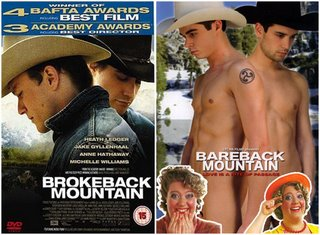 Bare and Brokeback Mountain!
