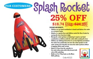 Discovery Toys Splash Rocket