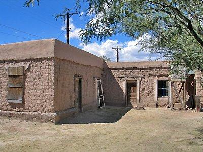Mesilla blog adobe for Cost to build adobe home