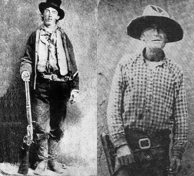 Billy the Kid and John Miller