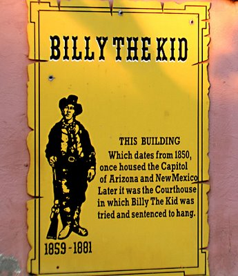 Billy the Kid Sign