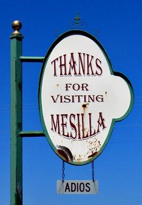Thanks for visiting Mesilla