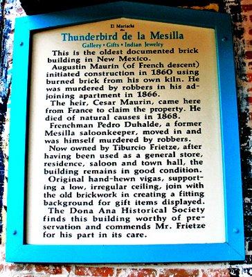 Thunderbird de la Mesilla
