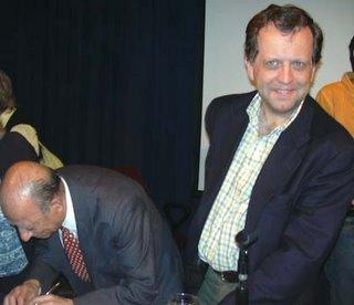 junto a Guillermo Guerrero