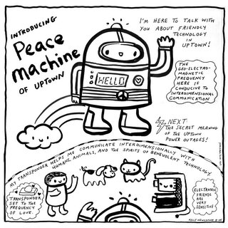 Peace Machine by Kelly Newcomer