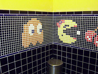 pac-man bathroom