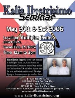 Kali Seminar Flyer