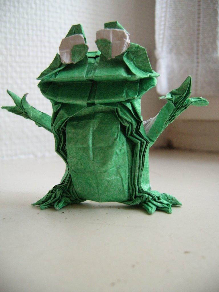 Origaiku avril 2006 - Origami grenouille sauteuse pdf ...