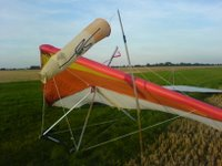 Rigged Airwave Calypso hang glider