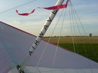 Airwave Calypso Kingpost with BHPA red ribbon