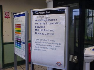 Northern Line Service update