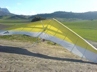 My traing glider, an Aeros Target
