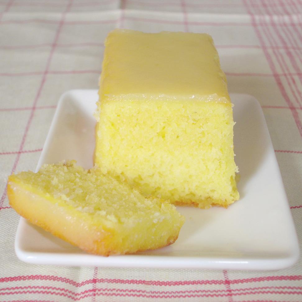Gateau au amande citron