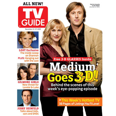 Image result for patricia arquette tv guide cover