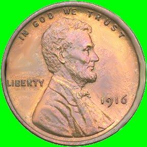 1950 Lincoln Wheat Penny but in GREAT shape! Circulated