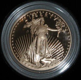 2005 Gold coin