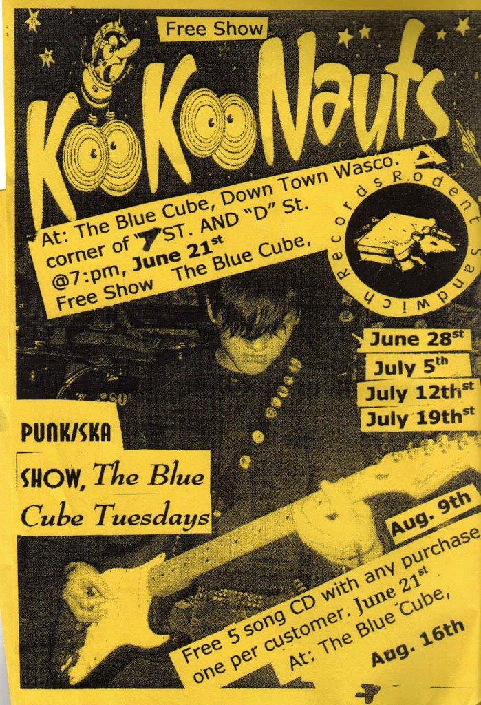 KOOKOONAUTS: Kookoonuats, Rare Underground Music