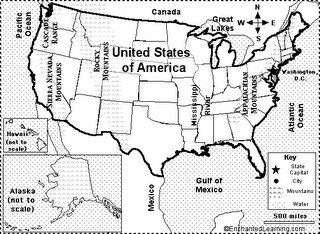 Map of the USA Quiz
