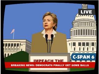 Hillary gets balls too!