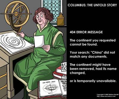 christopher columbus good or evil Columbus gets his gold columbus eventually developed a system where he would force the indians to gather gold and would torture them by cutting off their hands if they didn't meet his gold.