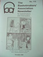 Latest issue of The Basketmaker's Association Newsletter