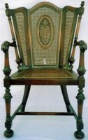 Appraisal of Early 1900s Cane Chair