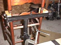 Seat Weaving Chair-Holding Jig