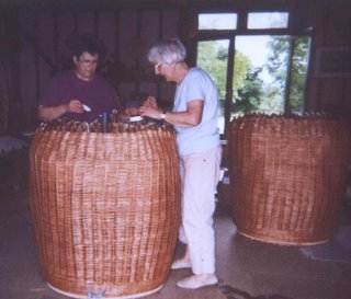 Olivia's Installation as Prime Warden of Basketmakers