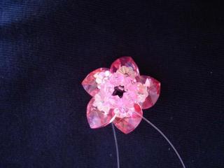 , Kalpli Çiçek Yüzük