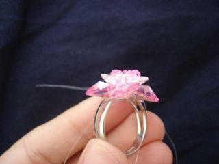 resim 12, Kalpli Çiçek Yüzük