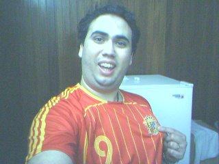 Autofoto con camiseta