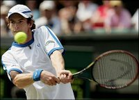 Andy Murray at Wimbledon 2006