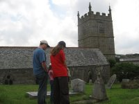 The church at Zennor