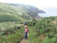 The coastal walk to Pendour Cove