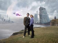 The Doctor and Rose on New Earth