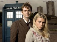 The Tenth Doctor and Rose