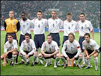 The 2006 World Cup England Team
