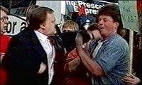 John Prescott punches Craig Evans