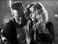 Mickey Rourke and Jaime King in Sin City