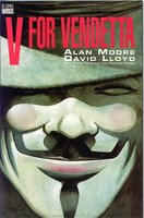 V for Vendetta comic book cover