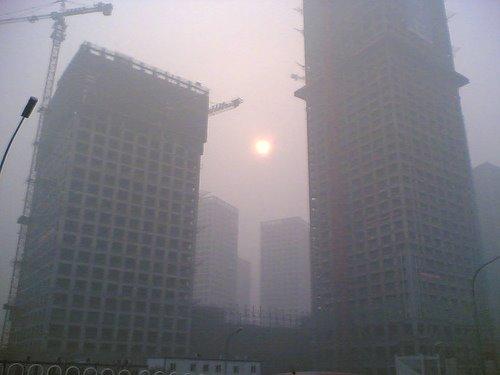 Contaminación en Beijing Foto de Benoist Sébire