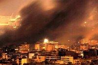 Bombas sobre Beirut