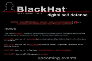 Black Hat web