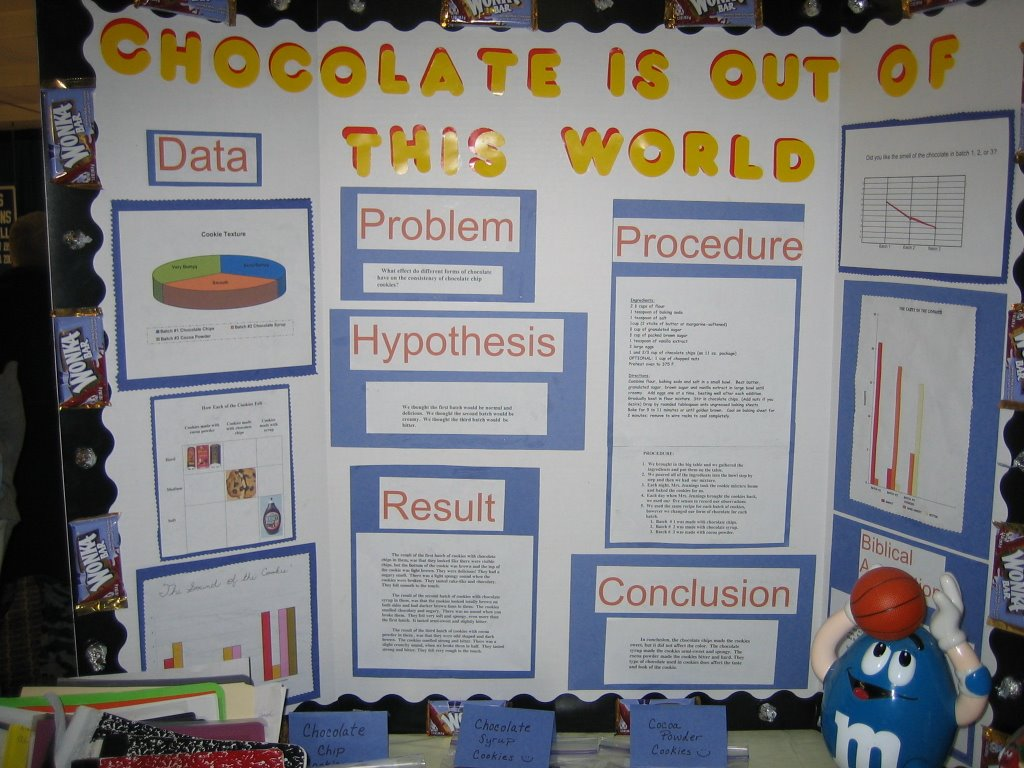 cookie science fair projects The science behind baking your ideal chocolate chip cookie : the salt whatever your pleasure — crispy, soft, gooey or nicely tanned — it's easy to.