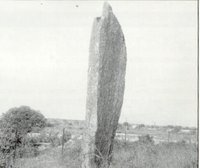 Menhir Rock in the campus of Hyderabad University