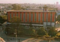 Two Storey Building of Desh Bhagat Yadgaar Hall at Jalandhar, Punjab, India