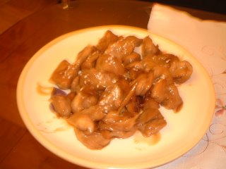 Teriyaki Veggie Chicken
