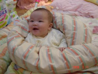 Beautiful, smiling, happy, Taiwanese baby